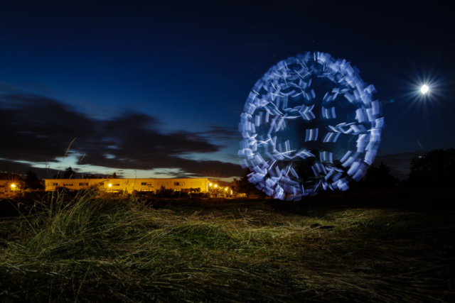 Lightpainting in Blankenloch